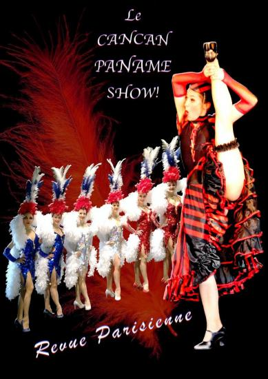Affiche Cancan Paname Show