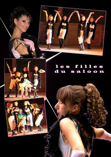 les filles du saloon