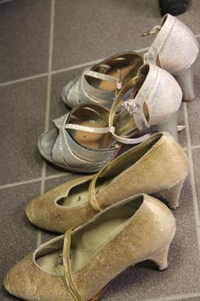 installation des Chaussures
