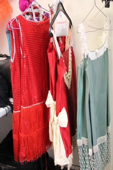 Installation des Robes