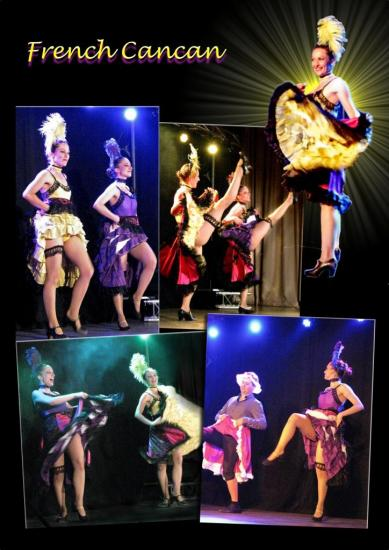 Tableau French Cancan